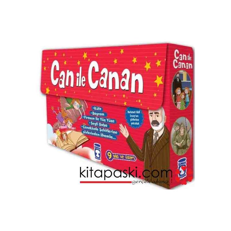 Can İle Canan Mehmet Akif Ersoy 5 Kitap Set